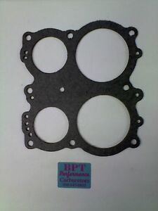 5 Holley 4165 4175 Spread Bore Throttle Plate Gaskets