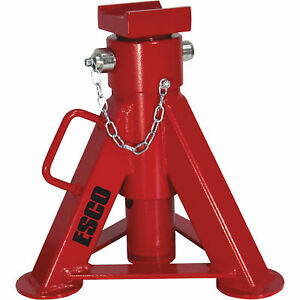 Esco 22 ton Jack Stand 4 Heights Model 92019
