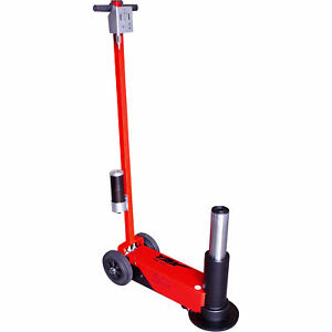 Esco Yak 33 Ton Tall Air Hydraulic Service Floor Jack Model 92008