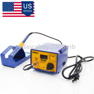 939d 60w Soldering Solder Rework Station Soldering Iron Base Holder 110v