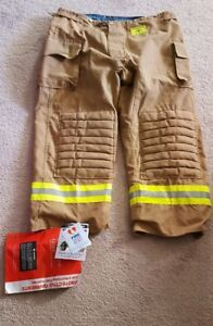Nwt Morning Pride Firefighter Turnout Gear Bunker Pants 46x30
