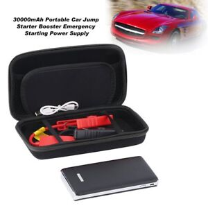 30000mah 12v Car Auto Jump Starter Emergency Charger Booster Power Bank Battery