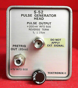 Tektronix S 52 Pulse Generator Head