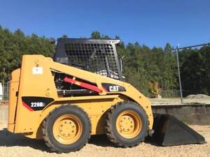 2014 Caterpillar 226b3 Skidsteer Orops Auxiliary Hydrualics Cat C2 2 4 Cylinder