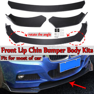 Carbon Front Bumper Lip Body Kit Spoiler For Bmw E90 E92 E93 3 Series 320i 325i