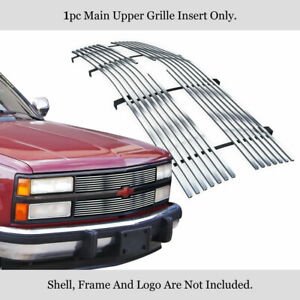 Fits 1992 1993 Chevy Blazer C k Pickup Stainless Chrome Billet Grille