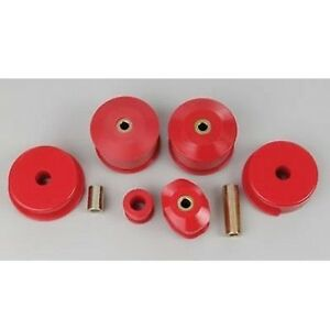 Prothane Motor Mount Inserts Bushing For 91 99 Nissan Sentra 200sx 1 6l 2 0l Red
