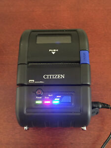 Citizen 2 Mobile Thermal Printer Cmp 20bt Usb Bluetooth Serial With Charger