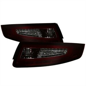 Spyder Auto 9038648 Led Tail Lights 2005 2008 Porsche 911 997 Pair Red Smoke