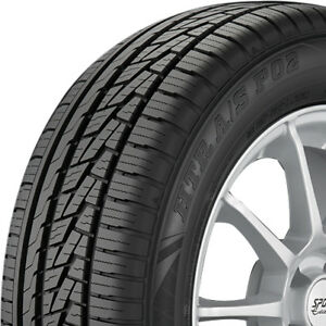 2 New 225 45 17 Sumitomo Htr A S P02 All Season High Performance 500aa Tires