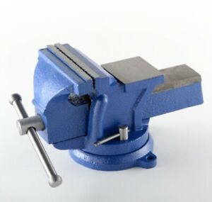 6 Bench Vise Heavy Duty Tabletop Countertop Swivel Locking Base Free Shipping