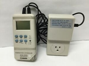 Control Company 4130 Traceable Temperature Controller On off Timer 115vac