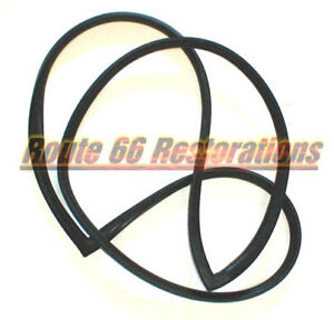 59 60 Chevy Impala Bel Air 2 Dr Hardtop Windshield Rear Glass Weatherstrips