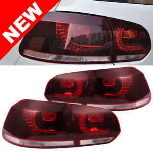 10 14 Vw Mk6 Golf Gti R Led Taillights Error Free Sequential Signal