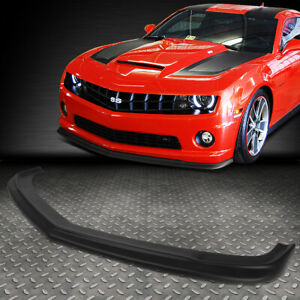 For 2010 2013 Chevy Camaro Zl1 Style Abs Front Bumper Lip Spoiler Wing Body Kit