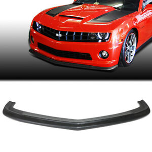 Fit 2010 2013 Chevy Camaro Zl1 Style Abs Front Bumper Lip Spoiler Wing Body Kit