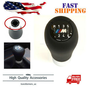 For Bmw 1 3 5 6 7 Series E46 E36 Bmw Zhp 6 Speed Leather Gear Shift Knob Shifter