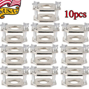 10x Heavy duty Dental Reline Jig Single Compress Press Presser Dental Lab Fda