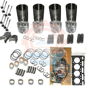 Sl7600 Overhaul Rebuild Kit For Yanmar Engine Gehl Skid Steer Loader