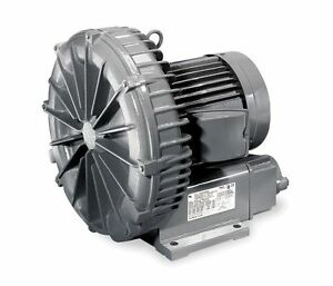 Vfc400p 5t Fuji Regenerative Blower 1 Hp 8 6 4 3 Amps 115 230 Volts