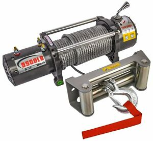 Jegs Performance Products 92610 9500 Lb Electric Winch For Truck Or Trailer