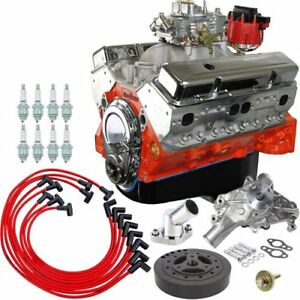 Blueprint Engines Bp4001ctc1k Small Block Chevy 400ci Dress Engine Kit Includes