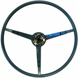 Golden Star Wl20 66bl Steering Wheel 1966 Ford Mustang Blue Finish