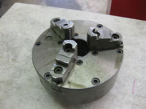 8 Lathe Chuck With Cam Lock for Parts Or Repair