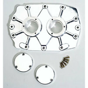 The Blower Shop 1166 Billet Rear Bearing Plate Gmc 6 71 308 Dowel Pin Polished
