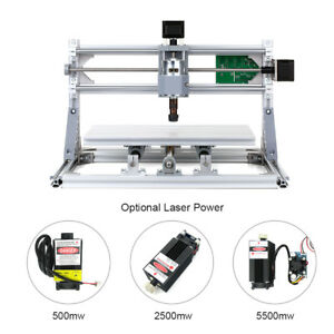 3 Axis Diy Cnc 3018 Wood Engraving Carving Pcb Milling Machine Engraver 500mw