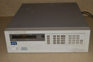 Hp Hewlett Packard Agilent Model 6625a Systems Dc Power Supply 1