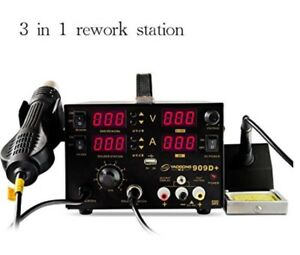 Yaogong New Long Life 3 in 1 With Hot Air Smd Soldering Rework Station