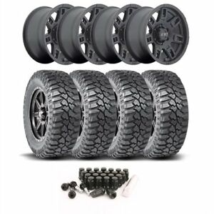 Mickey Thompson 3058421k64 Jeep Wheel And Tire Kit 1987 2006 Wrangler Yj tj 1984