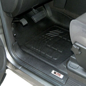 Toyota Tacoma Access Cab 2005 2011 Sure fit Floor Mats Liners Front Black