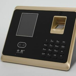 Zk ta50 Face Recognition Attendance Clock Door Access Tcp ip Password Control