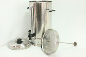 Sybo Commercial Grade Stainless Steel 15 Liters Coffee Maker Hot Water Heater