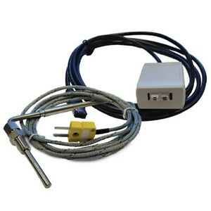 Sct Egt Pyrometer Sensor Kit Exhaust Gas Temperature For Sct Livewire Ts And X4