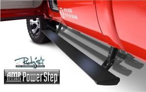 Amp Research Powerstep Bars Running Boards 2006 2009 Dodge Ram Cummins 75118 01a