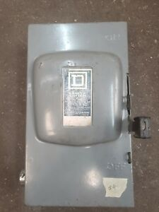 Square D Safety Switch 100 Amp
