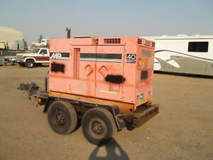 Multiquip 40 Kva Whisper Watt On Trailer