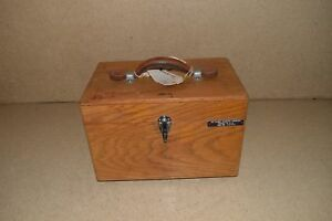Leeds Northrup Cat No 8667 Galvanometer In Wood Case pr3