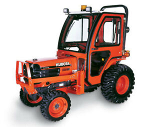 Complete Curtis Soft Sided Deluxe Cab System Kubota B1700 B2100 B7500 B7610