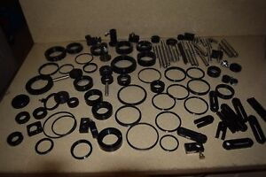 Oriel Optical Lot Of 80 Pieces Mirror Mounts Optical Rods or2