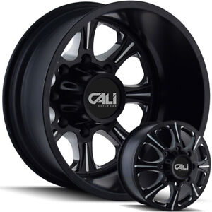 20 And 22 New Dually Wheels Ford F350 F450 Chevy Gmc Dodge Ram 3500