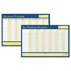 House Of Doolittle 100 percent Recycled All purpose vacation Plan a board