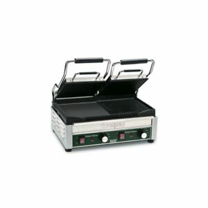 Waring Commercial Wdg300 240v Double Italian Style Panini Grill
