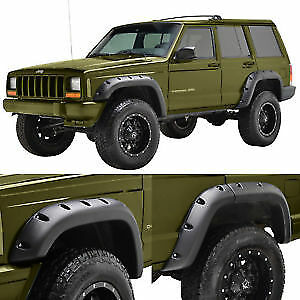Jeep Cherokee Xj 1984 2001 5 Wheel Cover Pocket Style Fender Flare 8 Pieces new