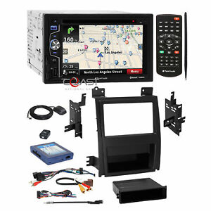 Planet Audio Dvd Usb Gps Stereo Dash Kit Amp Harness For 07 Cadillac Escalade