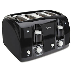 Holmes Products Extra Wide Slot Toaster 4 slice 11 3 4 X 13 3 8 X 8 1 4 Blac