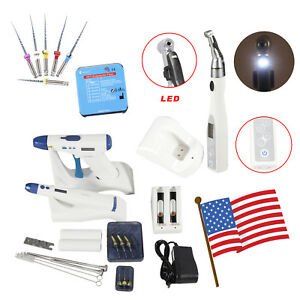 Dental Endodontic Obturation System Gutta Percha Gun Pen Tip 16 1 Led Endo Motor